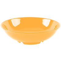 GET B-48-TY Diamond Mardi Gras 60 oz. Tropical Yellow Melamine Bowl - 12/Case