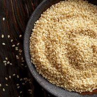 Regal Bulk White Sesame Seeds - 25 lb.