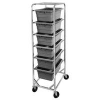 Channel 506LA Mobile Aluminum Lug Rack - 6 Lug Capacity