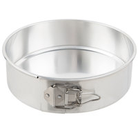 Chicago Metallic 40409 9 inch Aluminum Springform Customizable Cake Pan