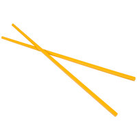 Town 51316Y 10 1/2 inch Yellow Melamine Chopsticks Set - 10/Pack