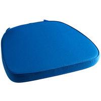 Lancaster Table & Seating Blue Chiavari Chair Cushion - 2 inch Thick