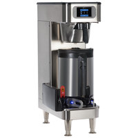 Bunn 52100.0100 ICB SH Platinum Edition Infusion Series Black / Silver Single Automatic Coffee Brewer with Wireless Server Monitoring - 120/240V, 3500W
