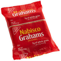 Nabisco 3 Count (0.73 oz.) Original Graham Crackers Snack Pack - 150/Case
