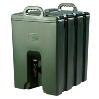 Carlisle LD1000N08 Cateraide™ LD 10 Gallon Forest Green Insulated Beverage Dispenser