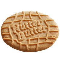 Nabisco Nutter Butter 15 lb. 3 inch Large Round Wafers