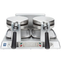 Waring WW250X Commercial Double Belgian Waffle Iron / Maker - 120V
