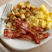 North Country Smokehouse 8 oz. Humane Organic Applewood Smoked Sugar Free Uncured Bacon - 12/Case