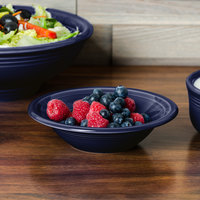 Homer Laughlin 472105 Fiesta Cobalt Blue 11 oz. Stacking Cereal Bowl - 12/Case