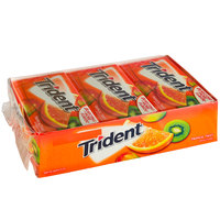 Trident Tropical Twist Sugar-Free Gum 14-Piece Pack   - 144/Case