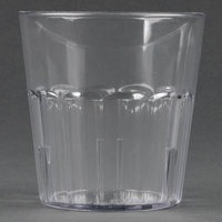 Cambro NT9152 Newport 9.3 oz. Clear Customizable Plastic Tumbler - 36/Case