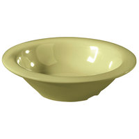 GET B-86-AV Avocado Diamond Harvest 8 oz. Bowl - 48/Case
