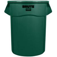 Rubbermaid BRUTE FG265500DGRN Green 55 Gallon Trash Can