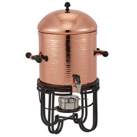 American Metalcraft MESABUCH13 3.25 Gallon (52 Cup) Round Copper Hammered Stainless Steel Coffee Chafer Urn