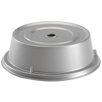 Cambro 1101CW486 Camwear 11 inch Silver Metallic Camcover Plate Cover - 12/Case