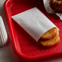 Carnival King 3 3/4 inch x 5 inch Hash Brown / Hot Food Bag - 1000/Case