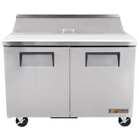 True TSSU-48-12 48 inch Two Door Sandwich / Salad Prep Refrigerator
