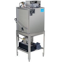 CMA Dishmachines EST-AH-EXT Extended-Door Single Rack Low Temperature, Chemical Sanitizing Straight Dishwasher - 115V
