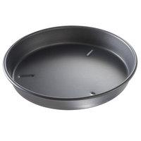 Chicago Metallic 91105 10 inch x 1 1/2 inch BAKALON Pre-Seasoned Aluminum Customizable Deep Dish Pizza Pan