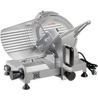 Backyard Pro SL110E Butcher Series 10 inch Economy Manual Gravity Feed Meat Slicer - 120V