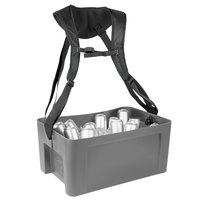 IRP 3351084 22 5/8 inch x 14 3/4 inch x 10 inch Gray Hawker Elite with Harness