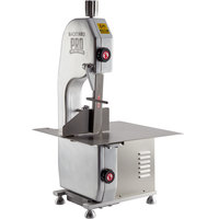 Backyard Pro BSSW65AL Butcher Series 65 inch Blade Countertop Vertical Band Meat Saw - 120V, 1 hp
