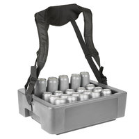 IRP 3351090 23 1/8 inch x 17 7/8 inch x 7 3/8 inch Gray Multi-Hawker Elite with Harness