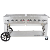 Crown Verity MCB-60 Liquid Propane Portable Outdoor BBQ Grill / Charbroiler