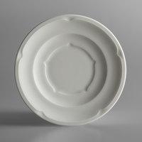 RAK Porcelain ANSA17 Anna 6 5/8 inch Ivory Porcelain Saucer - 12/Case