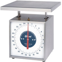 Edlund RF-25 25 lb. Extra Heavy-Duty Receiving Scale with 9 inch x 11 inch Platform