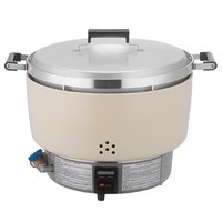 Thunder Group RER55ASN Rinnai 110 Cup (55 Cup Raw) Natural Gas Rice Cooker - 35,000 BTU