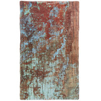 American Metalcraft RM2113 21 3/8 inch x 12 3/4 inch x 3/8 inch Faux Reclaimed Wood Melamine Rectangular Serving Board