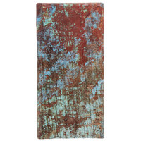 American Metalcraft RM189 17 3/4 inch x 8 3/4 inch x 3/8 inch Faux Reclaimed Wood Melamine Rectangular Serving Board