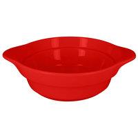 RAK Porcelain CFRD16BRBD Chef's Fusion 15.8 oz. Ember Red Round Porcelain Cocotte - 4/Case