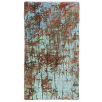 American Metalcraft RM147 14 1/4 inch x 8 inch x 3/8 inch Faux Reclaimed Wood Melamine Rectangular Serving Board