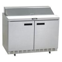Delfield 4448N-18M 48 inch Mega Sandwich / Salad Prep Refrigerator