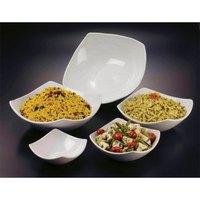American Metalcraft Prestige SQND11 2.4 Qt. Square Ceramic Bowl