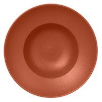 RAK Porcelain NFCLXD26BW Neo Fusion 10 1/4 inch Terra Brown Porcelain Extra Deep Plate - 6/Case