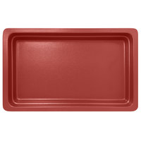RAK Porcelain NFBU1.1DR Neo Fusion 20 13/16 inch x 12 13/16 inch Magma Dark Red Porcelain Gastronorm Pan
