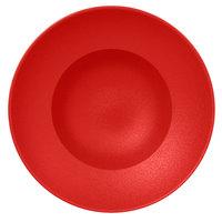 RAK Porcelain NFCLXD23BR Neo Fusion 9 1/16 inch Ember Red Porcelain Extra Deep Plate - 6/Case