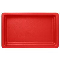 RAK Porcelain NFBU1.1BR Neo Fusion 20 13/16 inch x 12 13/16 inch Ember Red Porcelain Gastronorm Pan