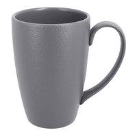 RAK Porcelain NFBAFM30GY Neo Fusion 10.2 oz. Stone Gray Porcelain Mug - 6/Case