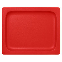 RAK Porcelain NFBU1.2FBR Neo Fusion 12 13/16 inch x 10 7/16 inch Ember Red Porcelain Gastronorm Pan - 3/Case