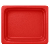 RAK Porcelain NFBU1.2BR Neo Fusion 12 13/16 inch x 10 7/16 inch Ember Red Porcelain Gastronorm Pan - 2/Case