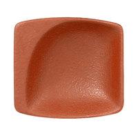 RAK Porcelain NFMZMS08BW Neo Fusion 3 1/8 inch x 2 15/16 inch Terra Brown Porcelain Mini Square Dish - 6/Case