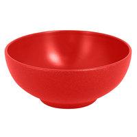 RAK Porcelain NFOPNB15BR Neo Fusion 21.3 oz. Ember Red Porcelain Bowl - 6/Case