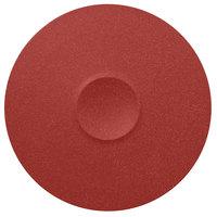 RAK Porcelain NFMRFP30DR Neo Fusion 11 13/16 inch Magma Dark Red Porcelain Plate - 12/Case