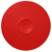 RAK Porcelain NFMRFP30BR Neo Fusion 11 13/16 inch Ember Red Porcelain Plate - 6/Case