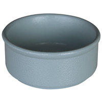 RAK Porcelain NFBABR02PG Neo Fusion 3.4 oz. Pitaya Gray Stackable Porcelain Ramekin - 12/Case