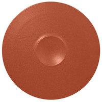 RAK Porcelain NFMRFP30BW Neo Fusion 11 13/16 inch Terra Brown Porcelain Plate - 12/Case